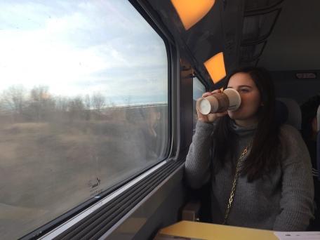 TGV train to Reims