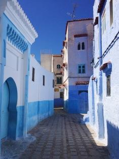 empty medina streets