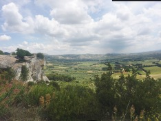 Isn't this view of the provencal countryside beautiful?