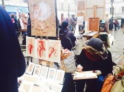 Artists in Montmartre