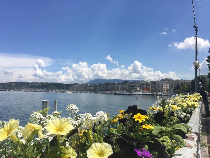 Walking around Geneva