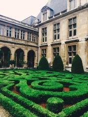 Beautiful topiary gardens!