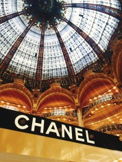 Chanel at the Galeries Lafayette