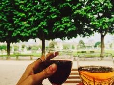 Wine in the Tuileries Garden