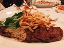 Steak Frites at Mon Ami Gabi!