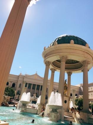 Pools at Ceasar's Palace!