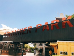 Container Park at Fremont Street.