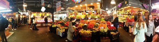 The market from inside!
