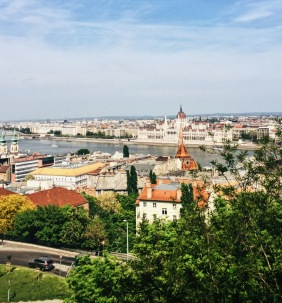 View of Budapest from Fisherman's Bastion