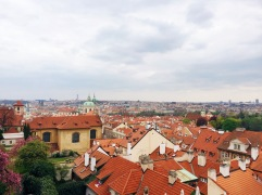 View of Prague from the Castle