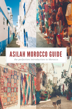 Travel guide to Asilah Morocco! This is a beautiful city located on the coast of northwestern Morocco! #travel #morocco #asilah